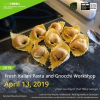FRESH ITALIAN PASTA AND GNOCCHI WORKSHOP