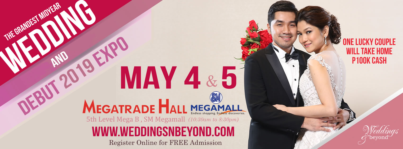 THE GRANDEST MIDYEAR WEDDING & DEBUT EXPO