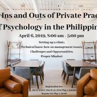 SEMINAR-FORUM FOR PSYCH PRACTITIONERS