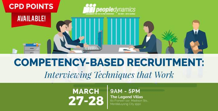 COMPETENCY-BASED RECRUITMENT: INTERVIEWING TECHNIQUES THAT WORK