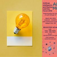 ARTIFICIAL INTELLIGENCE AND MACHINE LEARNING FORUM 2019
