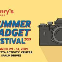HENRY'S SUMMER GADGET FESTIVAL 2019