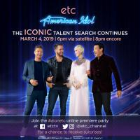 The Iconic Talent Search Continues:  American Idol Premieres March 4 On ETC