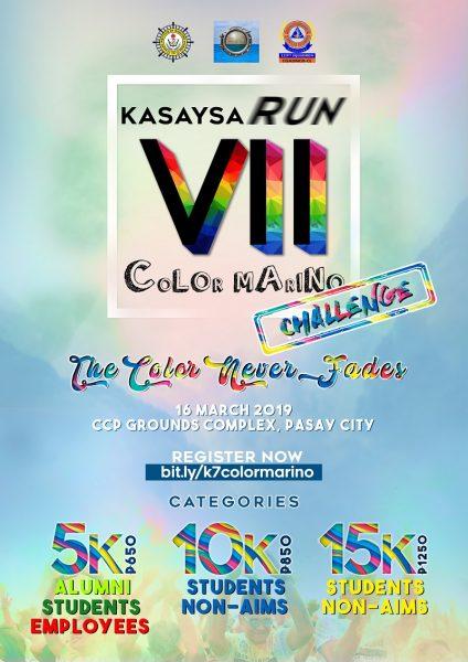 KASAYSARUN VII: COLOR MARINO 2019