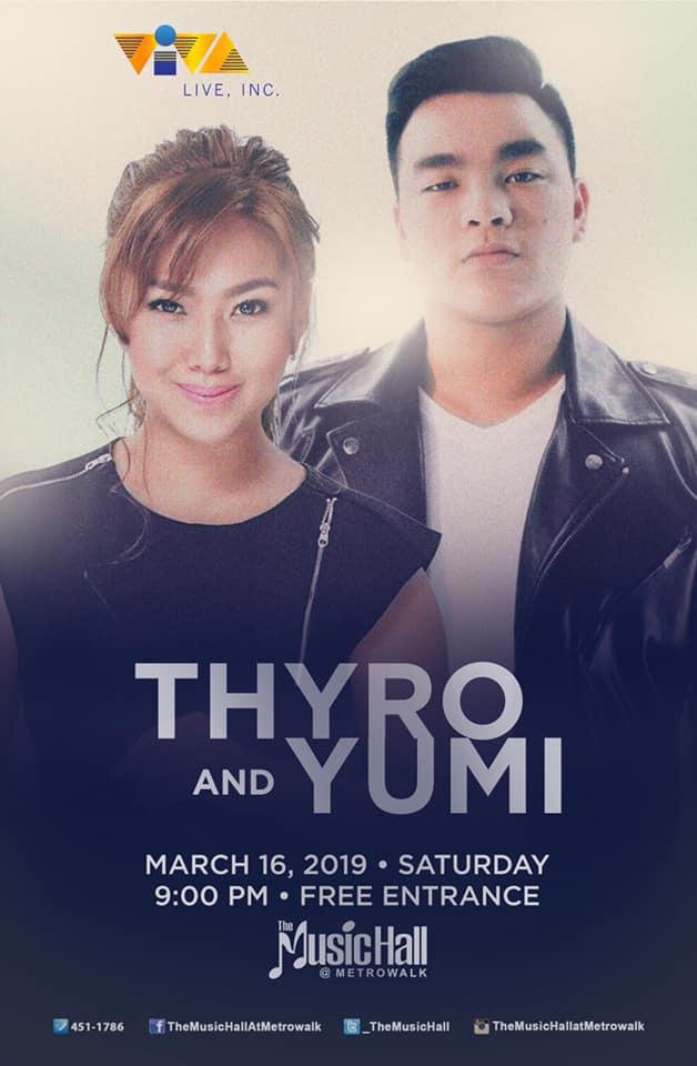 THYRO AND YUMI AT THE MUSIC HALL