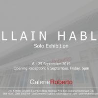 SOLO EXHIBITION: ALLAIN HABLO