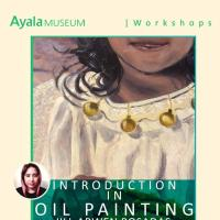 INTRODUCTION TO OIL PAINTING WORKSHOP WITH JILL ARWEN POSADAS