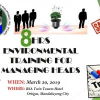 8HRS ENVIRONMENTAL TRAINING FOR MANAGING HEADS