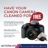 CANON CAMERA - FREE CLEANING