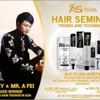 ASHLEY SHINE HAIR SEMINAR
