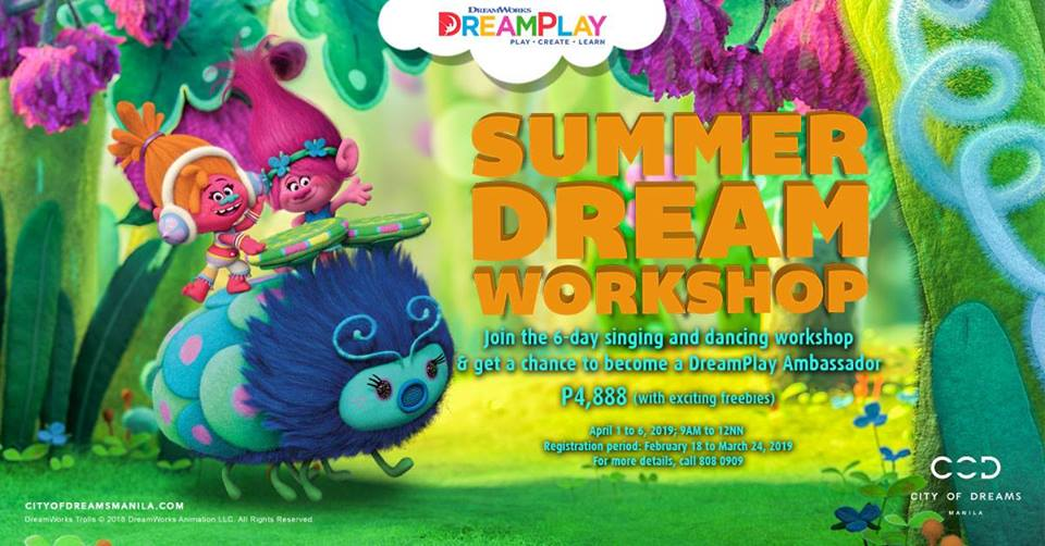 DREAMPLAY SUMMER DREAM WORKSHOP