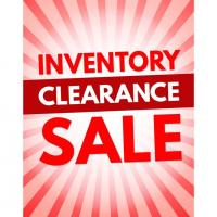 GARMENT INVENTORY CLEARANCE SALE