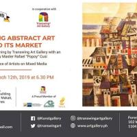CREATING ABSTRACT ART AND ITS MARKET
