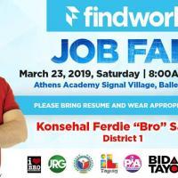 FINDWORK JOBFAIR AT ATHEN'S ACADEMY