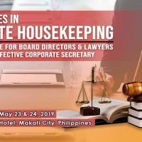 SEC-ACCREDITED | BEST PRACTICES IN CORPORATE HOUSEKEEPING