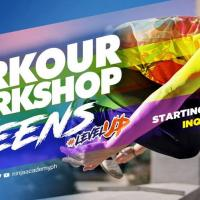 TEENS TO ADULTS SUMMER PARKOUR WORKSHOP