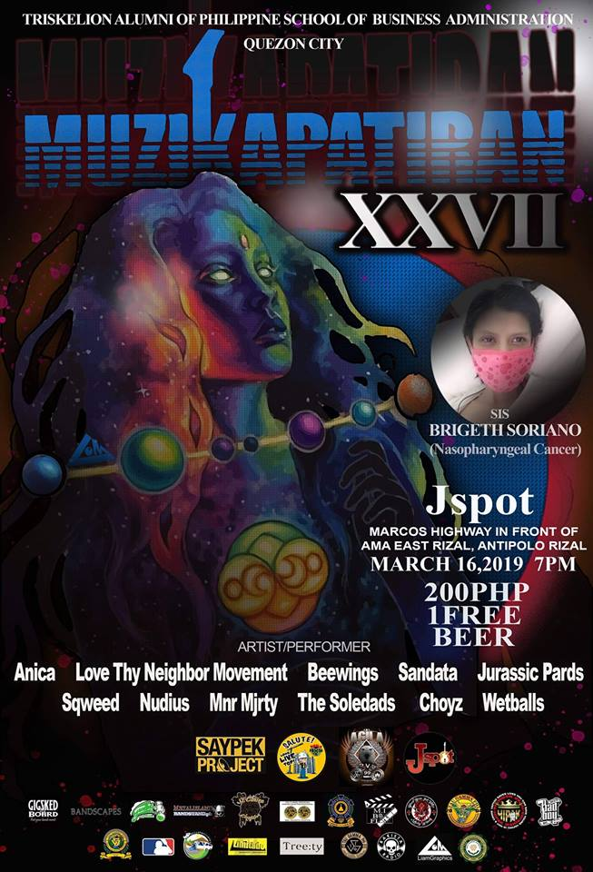 MUZIKAPATIRAN 27 (GIG FOR A CAUSE) AT J-SPOT GRILL AND RESTO