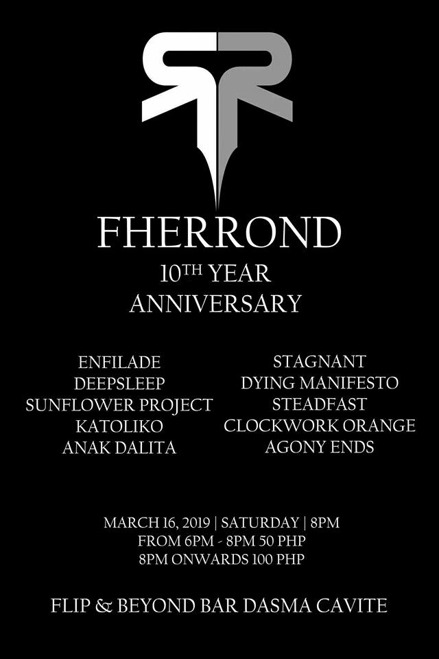 FHERROND 10TH YEAR ANNIVERSARY AT FLIP AND BEYOND BAR & RESTO