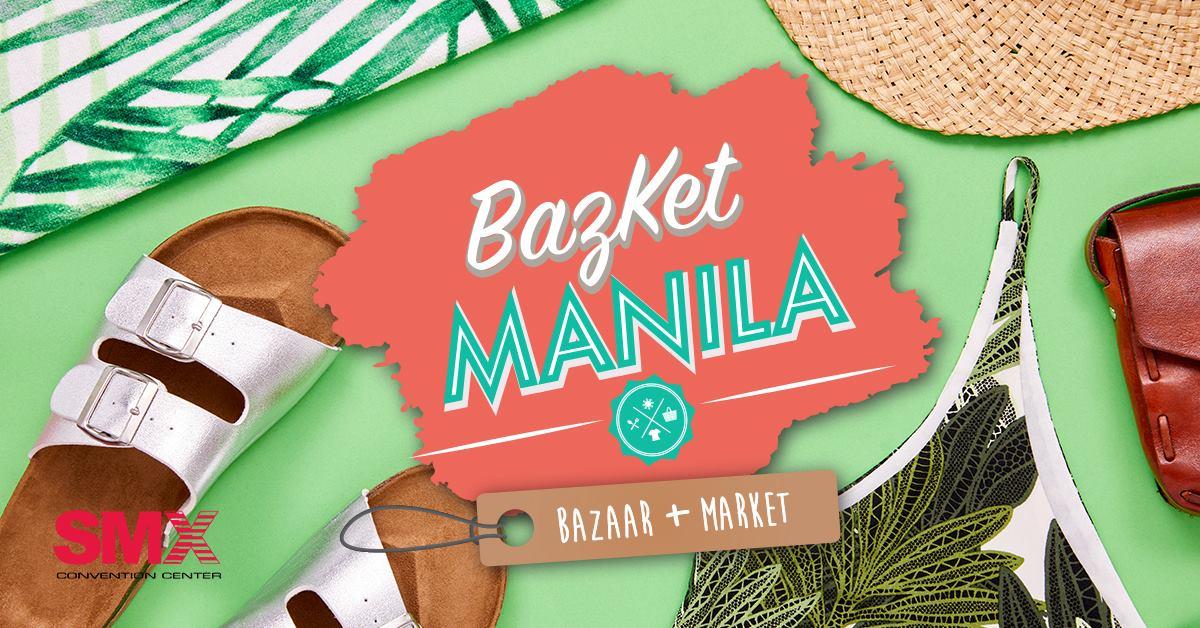 BAZKET MANILA:BAZAAR+MARKET