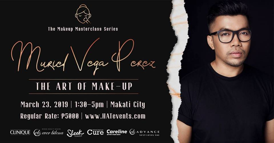 THE ART OF MAKEUP WORKSHOP W/ MURIEL VEGA PEREZ