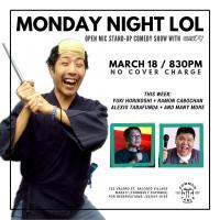 MONDAY NIGHT LOL AT COMMON TABLE AT SALCEDO