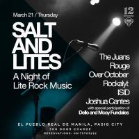 SALT AND LITES - A NIGHT OF LITE ROCK MUSIC AT 12 MONKEYS MUSIC HALL & PUB