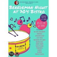 BEREDEMAN NIGHT AT THE 70'S BISTRO