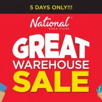 GREAT WAREHOUSE SALE