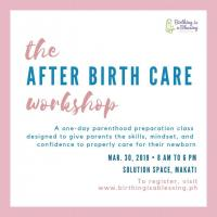 AFTER BIRTH CARE WORKSHOP CLASS NO. 5