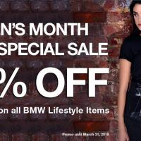 WOMEN'S MONTH BMW LIFESTYLE SPECIAL SALE