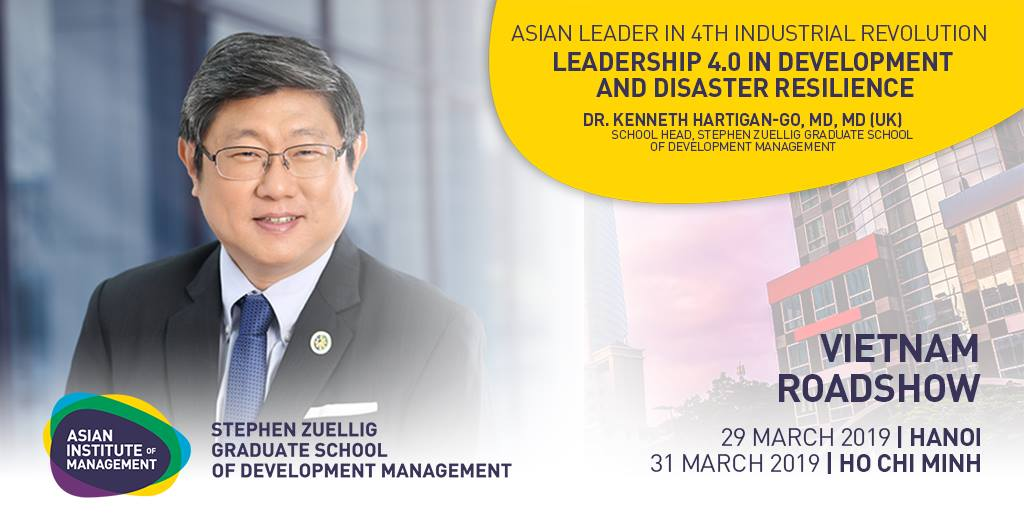 AIM VISITS VIETNAM : MASTERCLASS ON LEADERSHIP 4.0