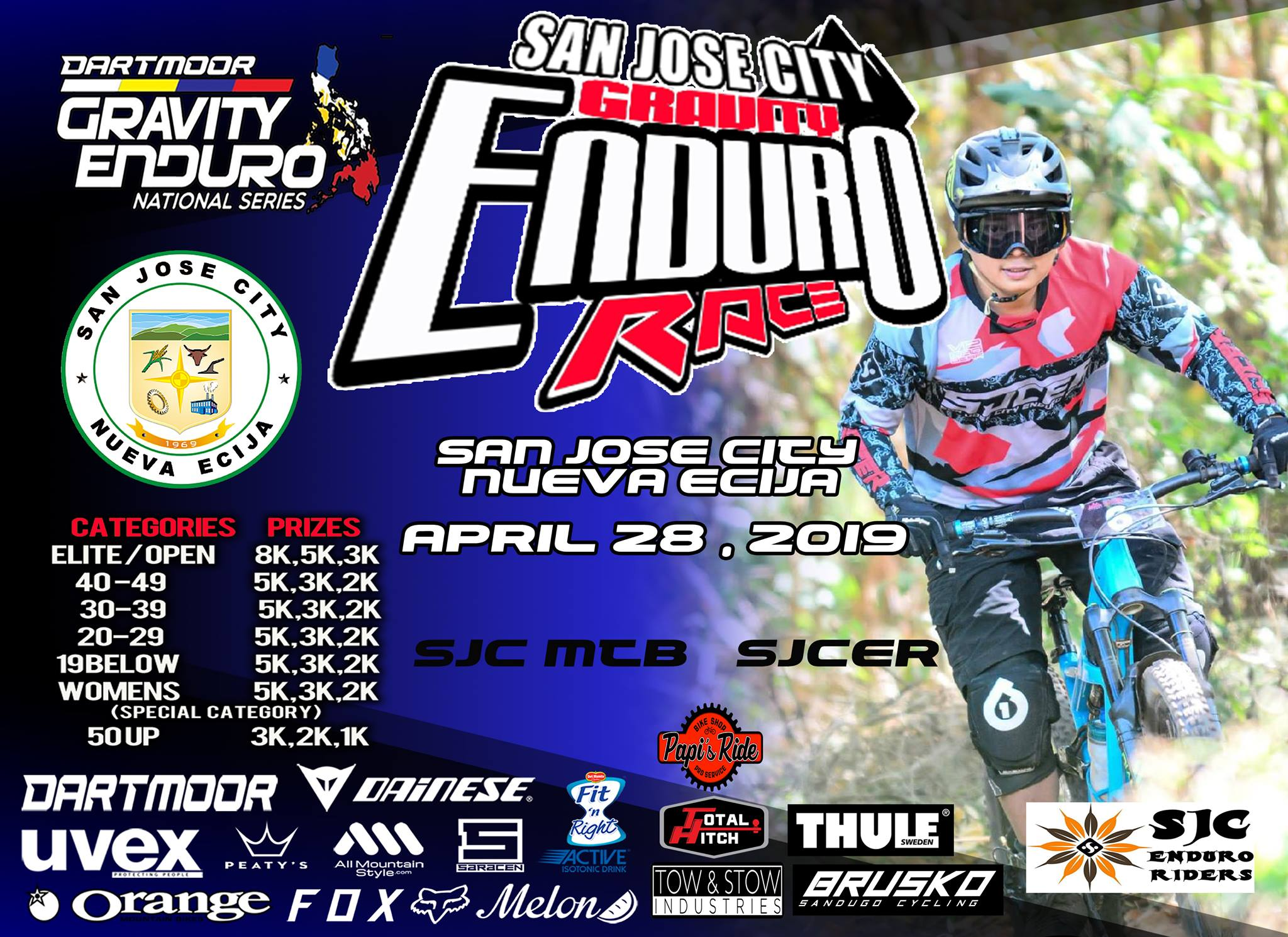 SAN JOSE CITY GRAVITY ENDURO RACE