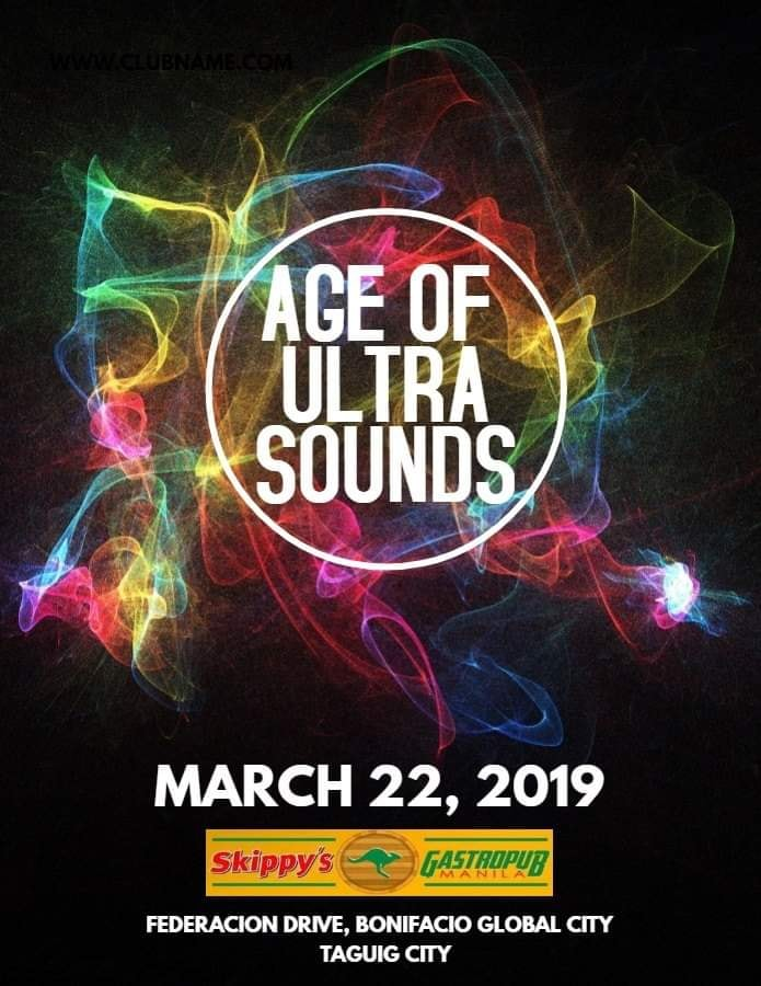 AGE OF ULTRASOUNDS AT SKIPPY'S GASTROPUB MANILA