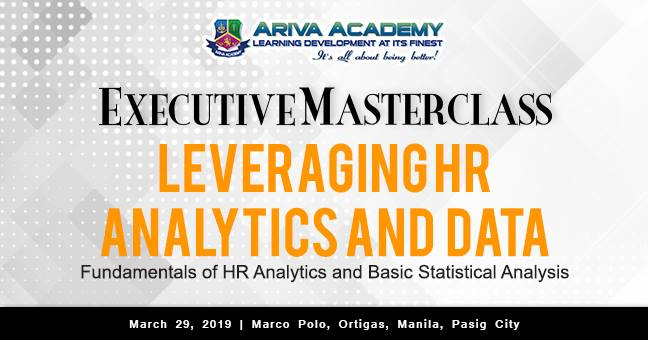 EXECUTIVE MASTERCLASS: LEVERAGING HR ANALYTICS AND DATA