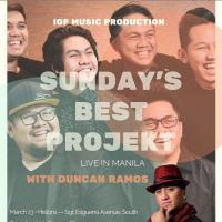 SUNDAY'S BEST PROJEKT WITH DUNCAN RAMOS AT HISTORIA BOUTIQUE BAR AND RESTAURANT