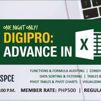 DIGIPRO: ADVANCE IN EXCEL (ONE NIGHT ONLY)