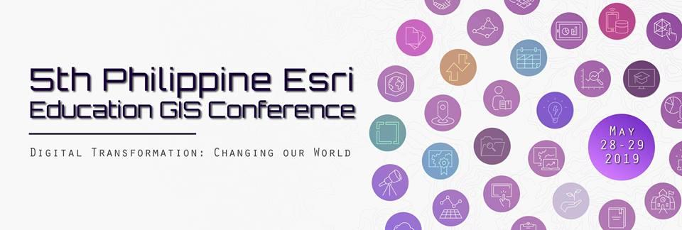 5TH PHILIPPINE ESRI EDUCATION GIS CONFERENCE