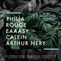 PHILIA X ROUGE X EAAASY X CALEIN X ARTHUR NERY AT 12 MONKEYS MUSIC HALL & PUB