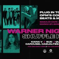 WARNER NIGHT: SHUFFLE PLAY AT SAGUIJO CAFE + BAR EVENTS