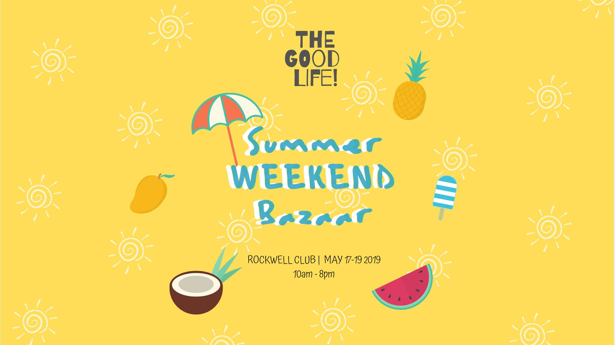 ROCKWELL CLUB'S SUMMER WEEKEND BAZAAR
