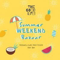 ROCKWELL CLUB'S SUMMER WEEKEND BAZAAR