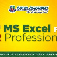 8TH MS EXCEL FOR HR PROFESSIONALS