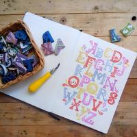 RUBBERSTAMP CARVING: DIY CREATIVE GIFTS WORKSHOP