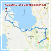 PANGASINAN 1OO-MILE ENDURANCE RUN