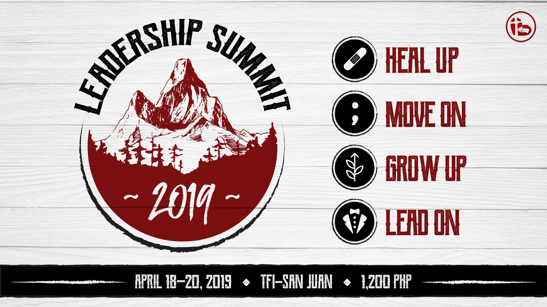 LEADERSHIP SUMMIT 2019