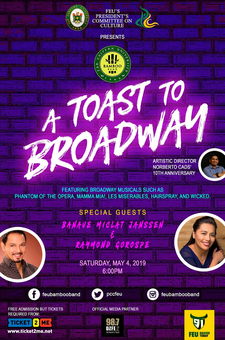 A Toast To Broadway