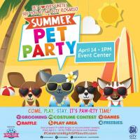 SUMMER PET PARTY