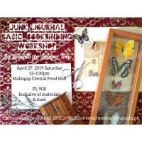 JUNK JOURNAL BASIC BOOKBINDING WORKSHOP