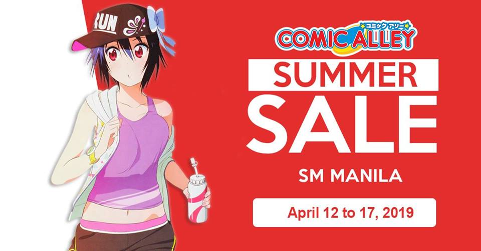 COMIC ALLEY SM MANILA'S SUMMER SALE