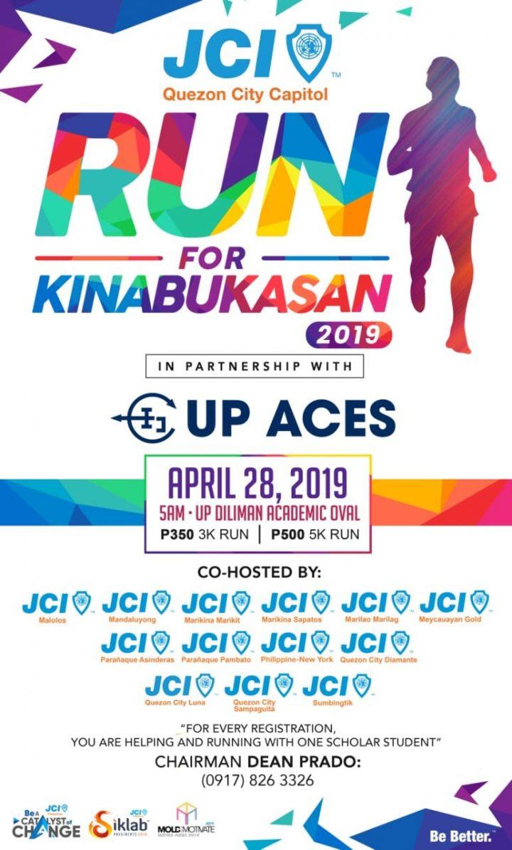 RUN FOR KINABUKASAN 2019